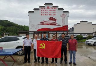 纪念建党98周年革命老区见学行